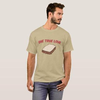 Beurre d'arachide et sandwich à la confiture : Un T-shirt