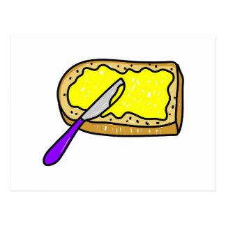 beurré-pain carte postale