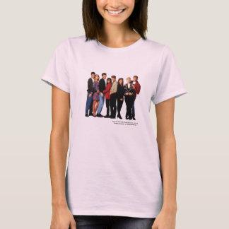Beverly Hills 90210 a moulé des femmes de T-shirt