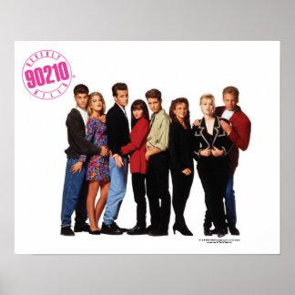 Beverly Hills 90210 a moulé l'affiche Posters