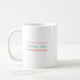 Bexley, tasse en céramique de l'Ohio, menthe et