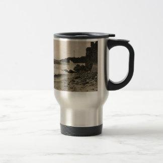 BIARRITZ - Rocher de la Virge France 1920 Mug De Voyage En Acier Inoxydable