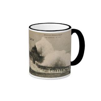 Biarritz Ruse de Marée Tempest 1920 Mug Ringer