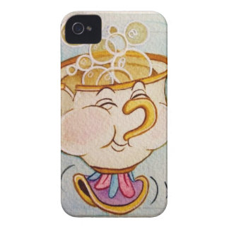 bibbles de soufflement de puce coque Case-Mate iPhone 4