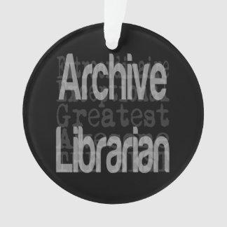 Bibliothécaire d'archives Extraordinaire