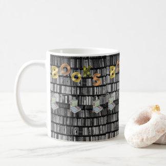 bibliothécaire de livre de tasses