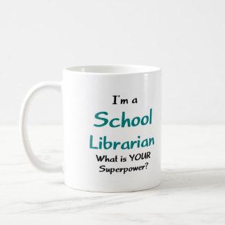 Bibliothécaire d'école mug