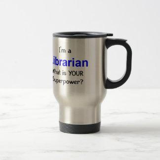 Bibliothécaire Mug De Voyage