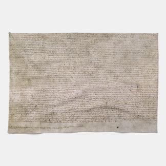 Bibliothèque 1215 britannique de la Magna Carta d' Linges De Cuisine