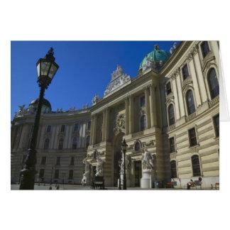 Bibliothèque nationale, Hofburg (palais impérial) Carte De Vœux