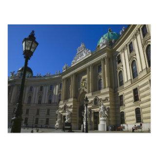 Bibliothèque nationale, Hofburg (palais impérial) Carte Postale