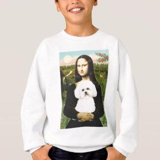 Bichon Frise 2R - Mona Lisa Sweatshirt