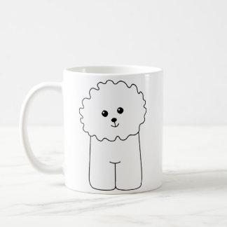 Bichon Frise, chien mignon Mug
