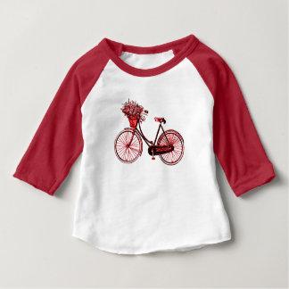 Bicyclette 2 t-shirt pour bébé