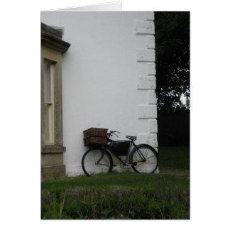 Bicyclette d'Avebury - carte pour notes