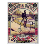 Bicyclette de Colombie Poster