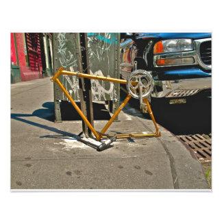 Bicyclette de SOHO NYC Impression Photographique