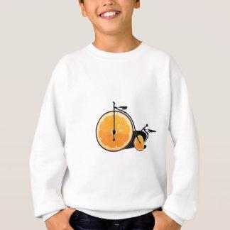 Bicyclette orange sweatshirt