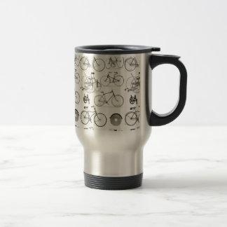 Bicyclettes vintages mug de voyage