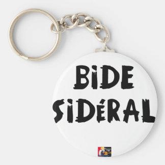 BIDE SIDÉRAL PORTE-CLÉ ROND