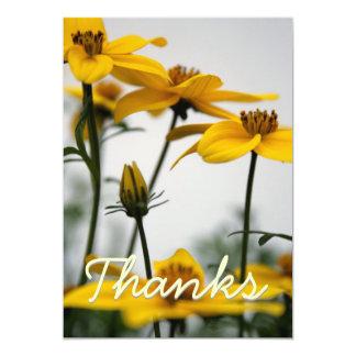 Bidens - photographie florale - cartes de Merci Invitations Personnalisables