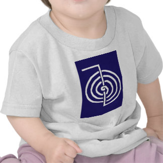 Bien-être curatif de santé de MODÈLE de symboles T-shirts