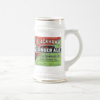 Bière anglaise de gingembre noire vintage de fauco tasse