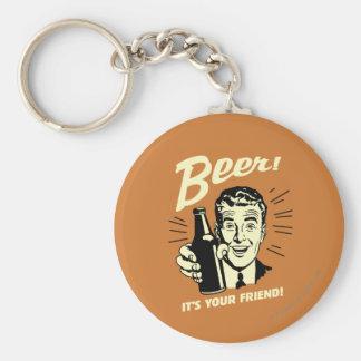 Bière : C'est votre ami Porte-clé Rond