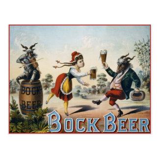Bière de Bock Carte Postale