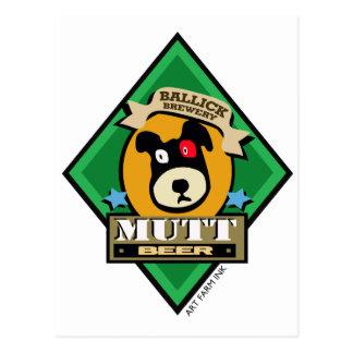 Bière de chien de Ballick Carte Postale
