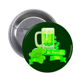 Bière de vert de jour de KRW St Patrick Badges