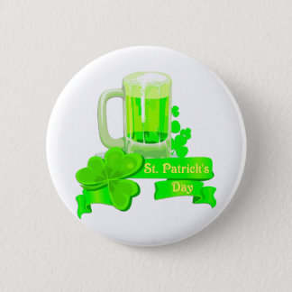 Bière de vert de jour de KRW St Patrick Pin's