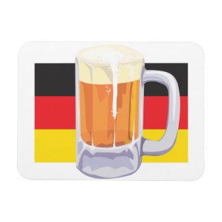 Bière d'Oktoberfest Magnet Flexible