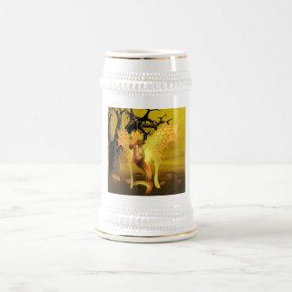 Bière d'or Stein de dragon Chope À Bière