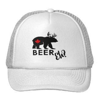 Bière du Canada hein ? itinéraire de phare de Casquettes
