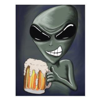 Bière est il ce qui nous buvons la carte postale