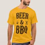 Bière et BBQ T-shirt
