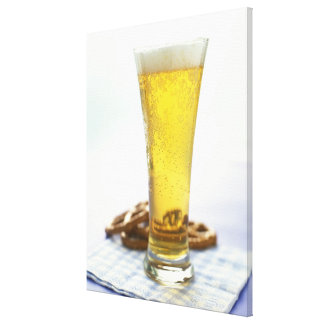 Bière et bretzels toiles