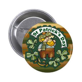 Bière et Irlandais Badge