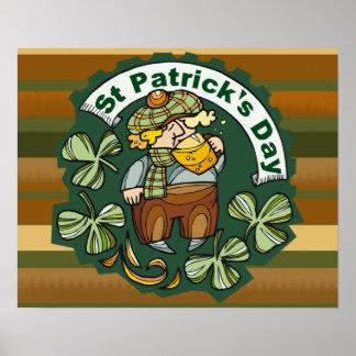 Bière et Irlandais Posters