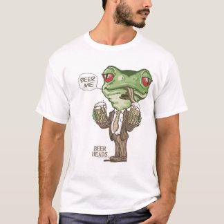 Bière je grenouille verte par des studios de Mudge T-shirt