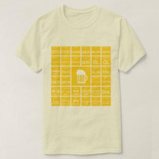 Bière - Multilinguals T-shirt