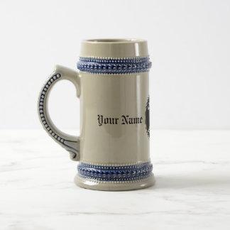 Bière personnalisable Stein avec le logo de partie Chope À Bière