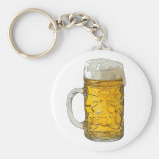 Bière Porte-clé Rond