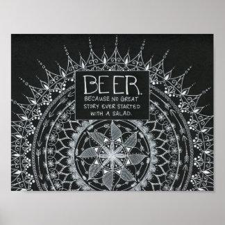 Bière Poster
