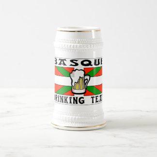 Bière potable Basque Stein d équipe Tasse À Café