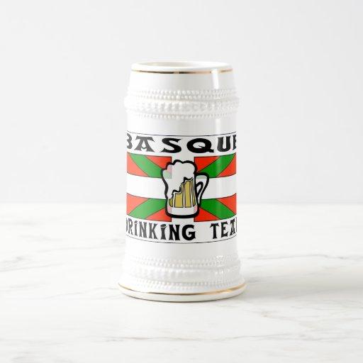 Bière potable Basque Stein d'équipe Tasse À Café