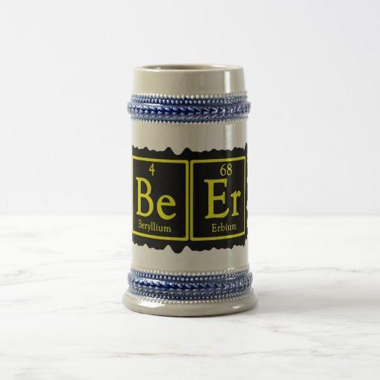 Bière Stein de geek de chimie Chope À Bière