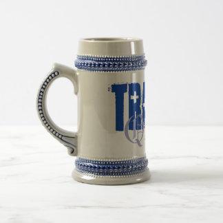 Bière Stein de la Reine de traumatisme Chope À Bière