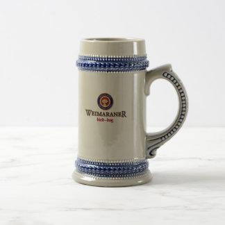 Bière Stein de logo de Paulaner de chien d'arrêt Chope À Bière